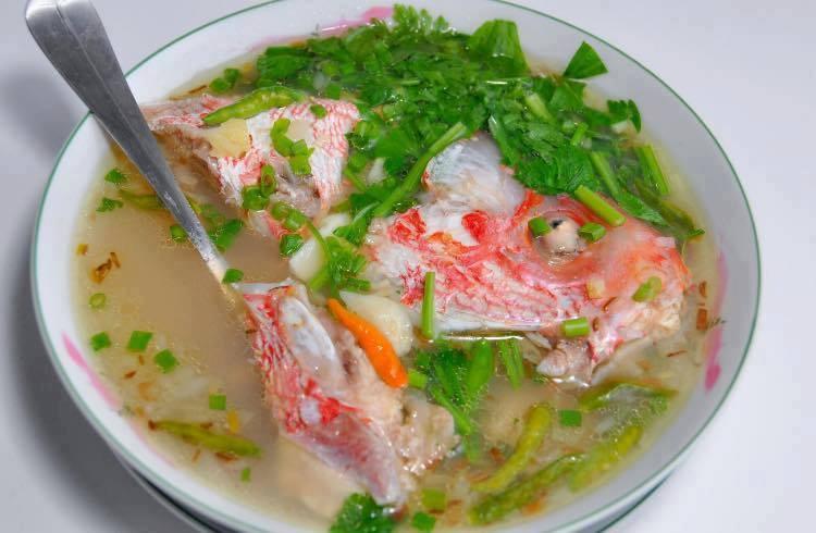 resep sup ikan kakap merah kuah bening
