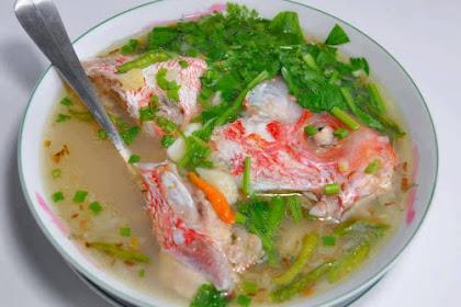 Resep Sup Ikan Kakap Merah Kuah Bening Mantap Rasanya