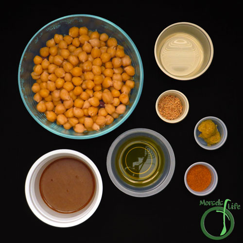 Morsels of Life - Creamy Hummus Step 1 - Gather all materials.