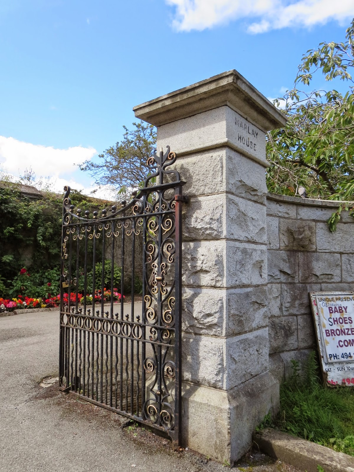 Entrance to Marlay House