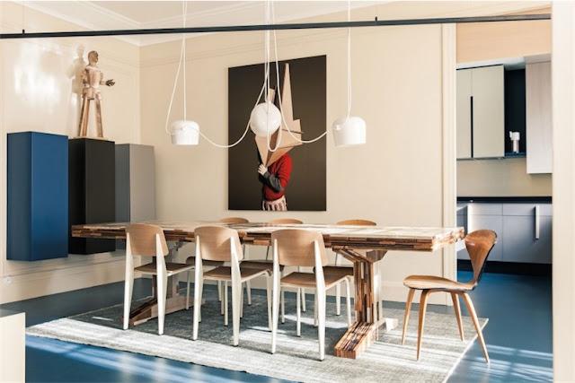 Elegante apartamento de diseño en París chicanddeco
