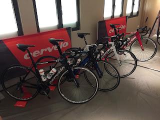 Garmin Fahrradlabor - Cervelo Renner