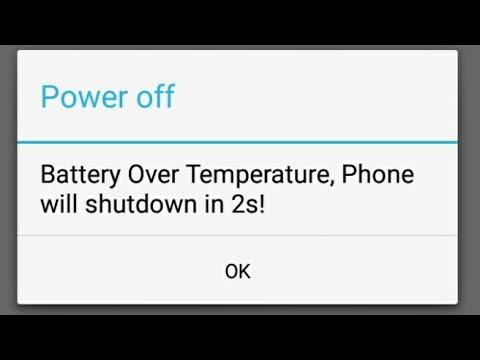 Battery Over Temperature lenovo a1000