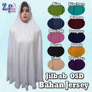 Jilbab Syar'i Bergo Jumbo Polos ala Oki Setiana Dewi Terbaru