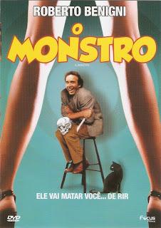 capa - O Monstro – DVDRip AVI Dual Áudio