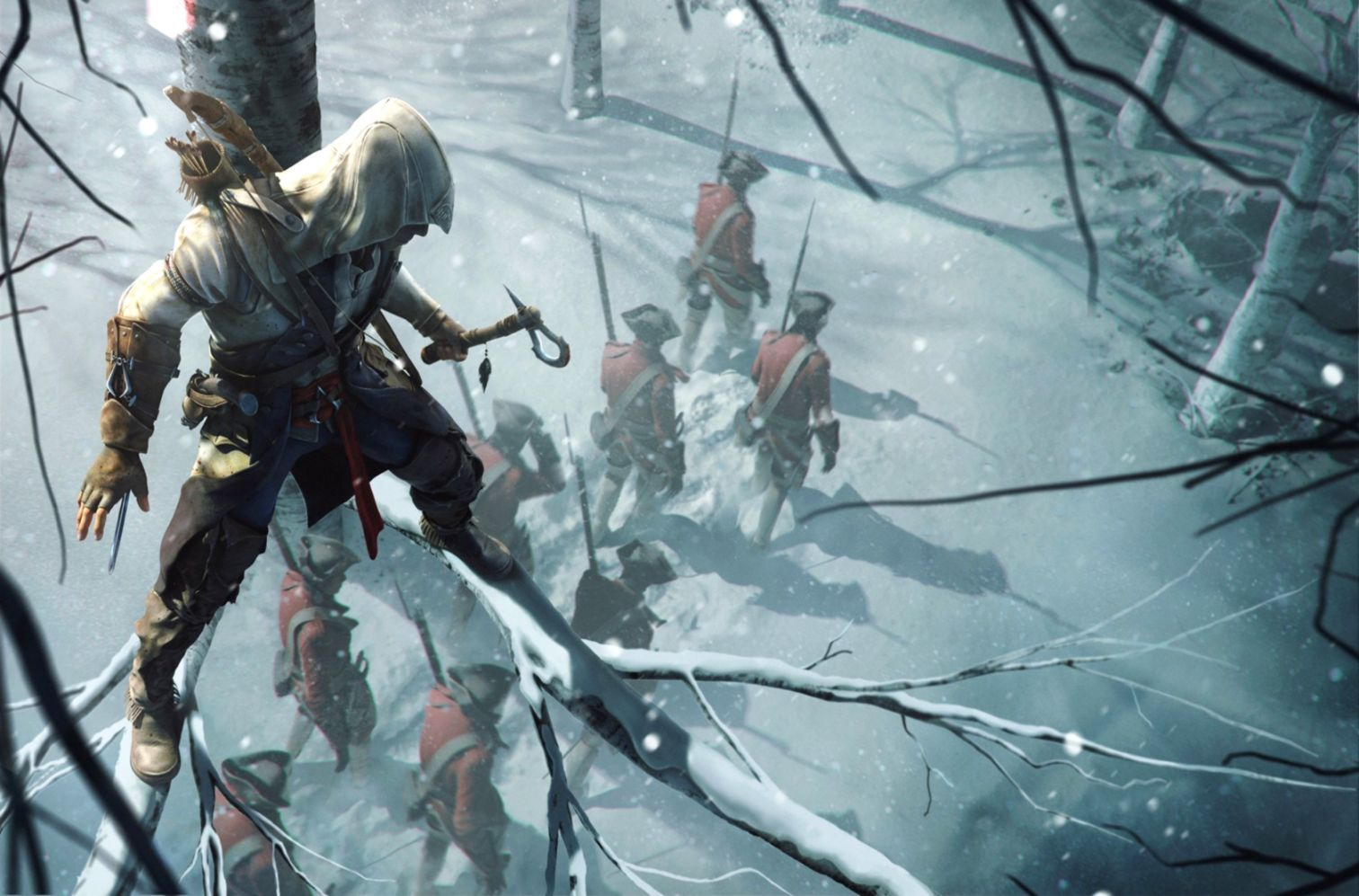 Assassins Creed 3 Connor Hd Games Wallpapers Emoji
