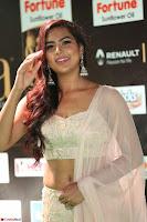 Prajna Actress in backless Cream Choli and transparent saree at IIFA Utsavam Awards 2017 0034.JPG