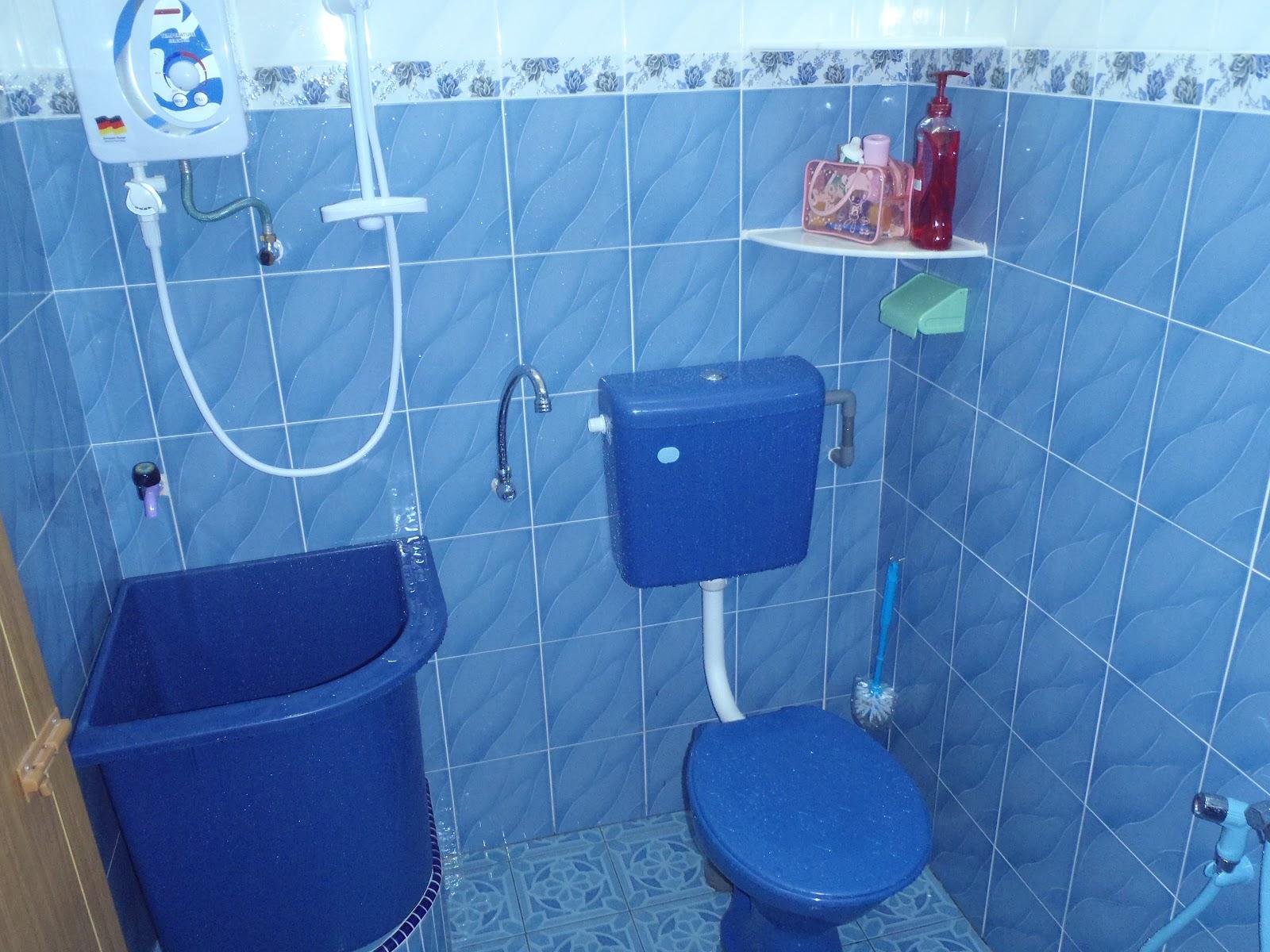 Princess Homestay Teluk Gedung Bilik Air Bathroom
