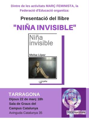 """Esguard de Dona - Presentació del llibre """"Niña Invisible"""""""