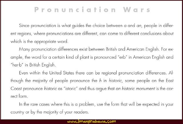 Pronunciation Wars