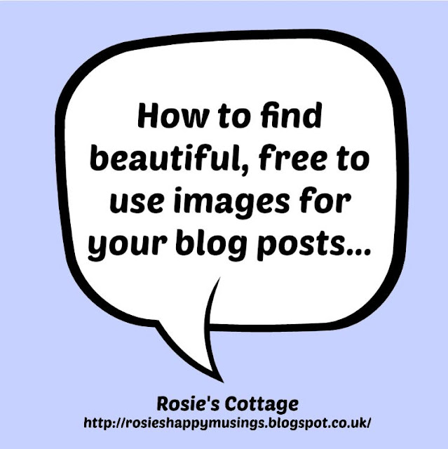 How to find beautiful free to use images for your blog