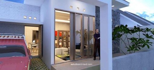 a rumah arsitektur sederhana lahan 9x12m desain siap