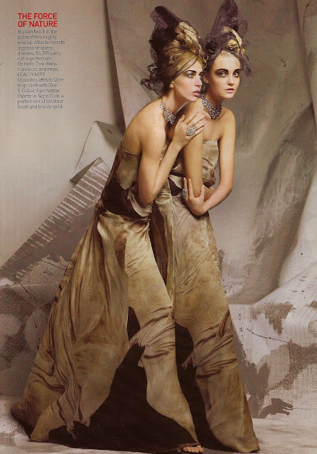 Fashion - High Definition Vogue US, March 2008
