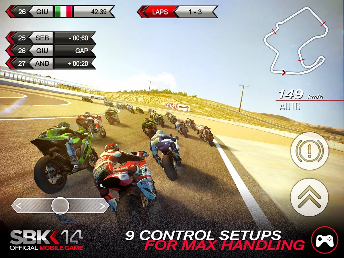 SBK15: Official mobile game APK Download with SD OBB Data