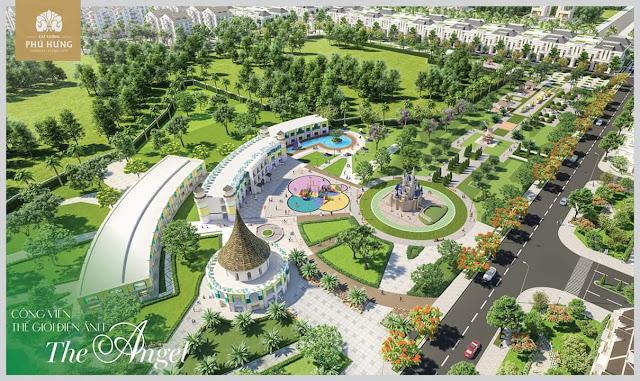 Công viên Thế Giới Điện Ảnh - The Angel tại Cát Tường Phú Hưng