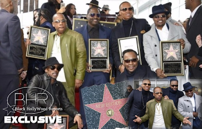 New Edition Has Been Honored With A Star On The Hollywood Walk Of Fame