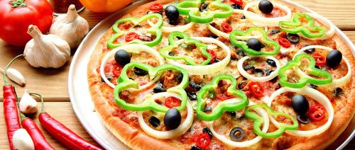 لتحضير بيتزا صحية وشهية (دايت) لكم الطريقة pizza toppings