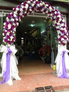 mẫu cổng hoa cưới đẹp nhất 14