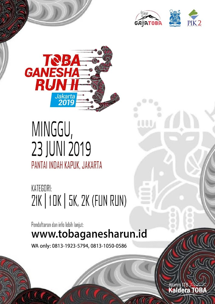 Toba Ganesha Run II • 2019