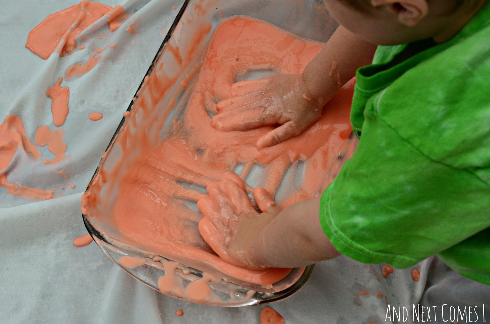 Canada Day sensory play for toddlers & preschoolers from And Next Comes L