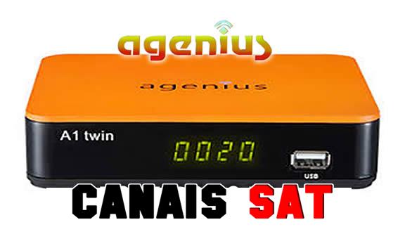 Agenius A1 Twin Nova Atualização V2.252 - 21/12/2018