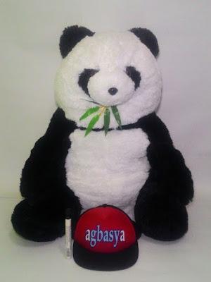 Boneka Panda Bambu Jumbo Agbasya