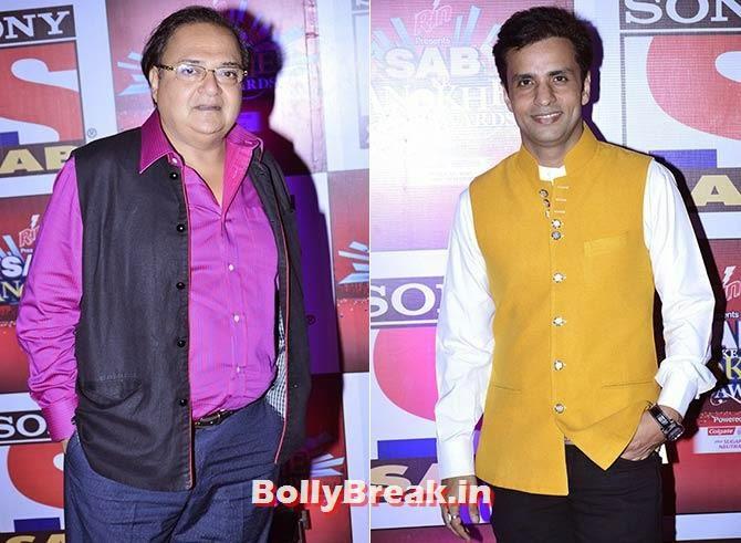 Rakesh Bedi and Rajeev Thakur, SAB Ke Anokhe Awards Photo Gallery