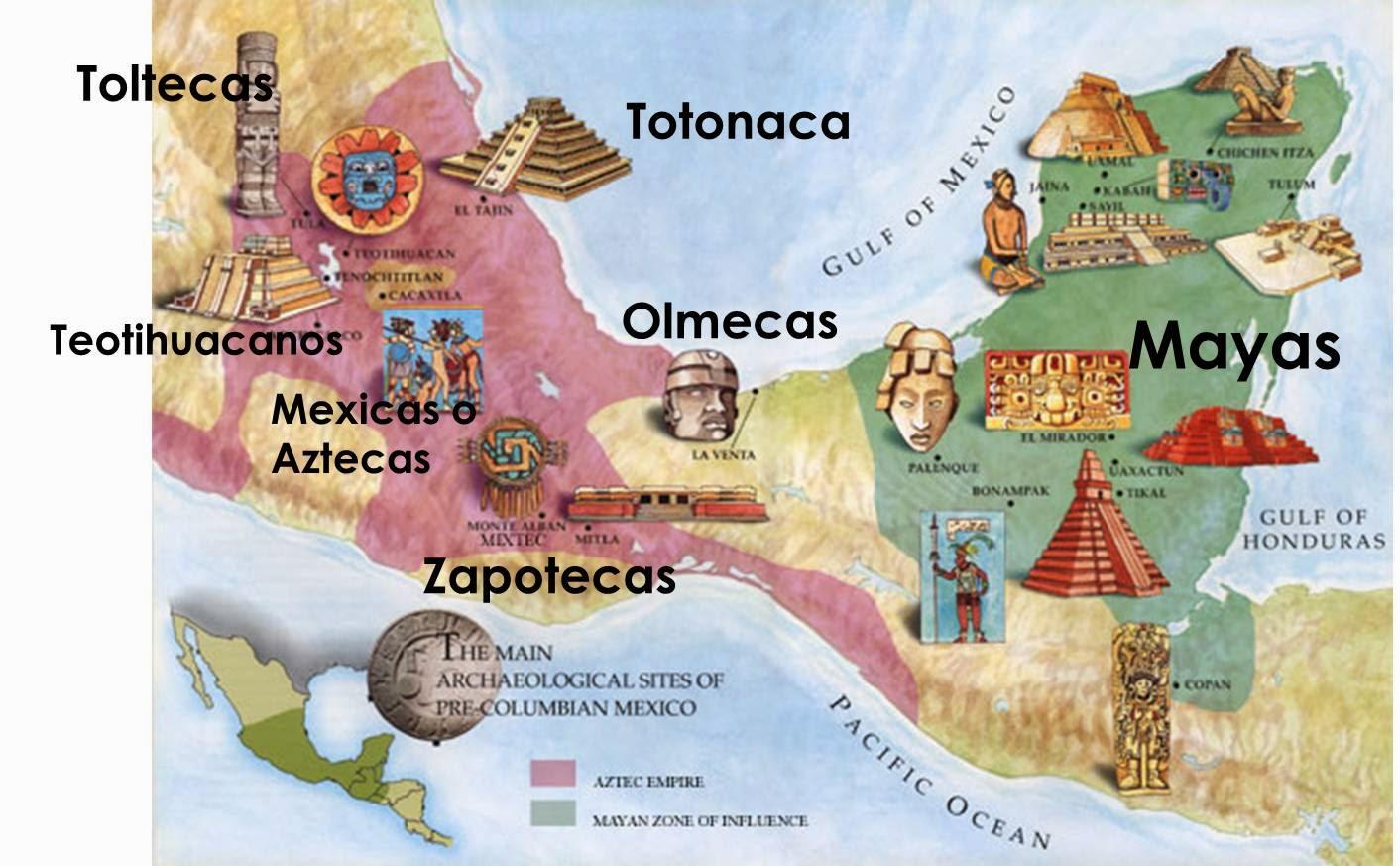 Cultura tolteca historia mexico for Cultura maya ubicacion