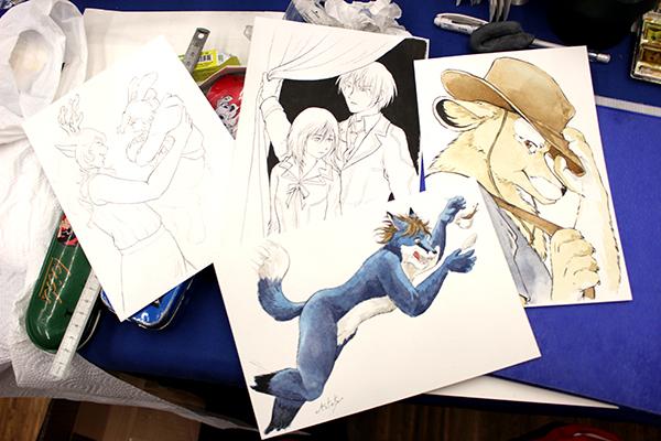 dessins de commission