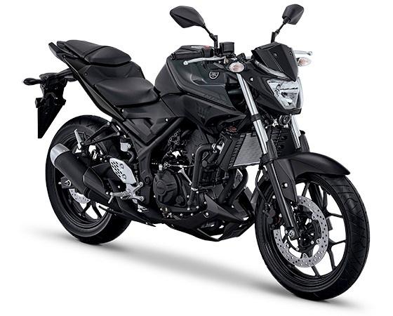 Pilihan warna plus striping baru Yamaha YZF R25 dan MT-25 2017