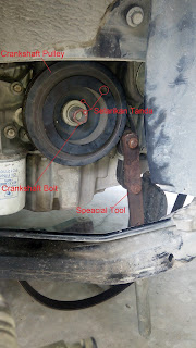Ganti Timing Belt Dan Water Pump Proton Saga BLM Cara Koman