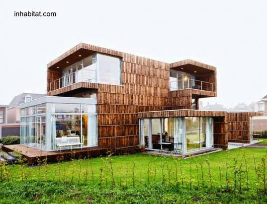 Casa de campo estilo Contemporáneo en Holanda