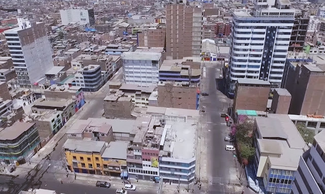 Centro comercial Gamarra tras el desalojo a ambulantes