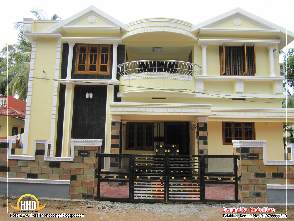February 2012 kerala home design and floor plans for Best duplex house plans in india
