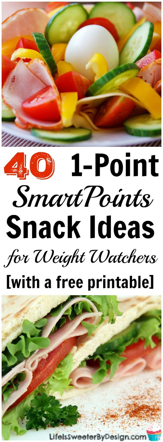 1 point snack ideas for weight watchers beyond the scale