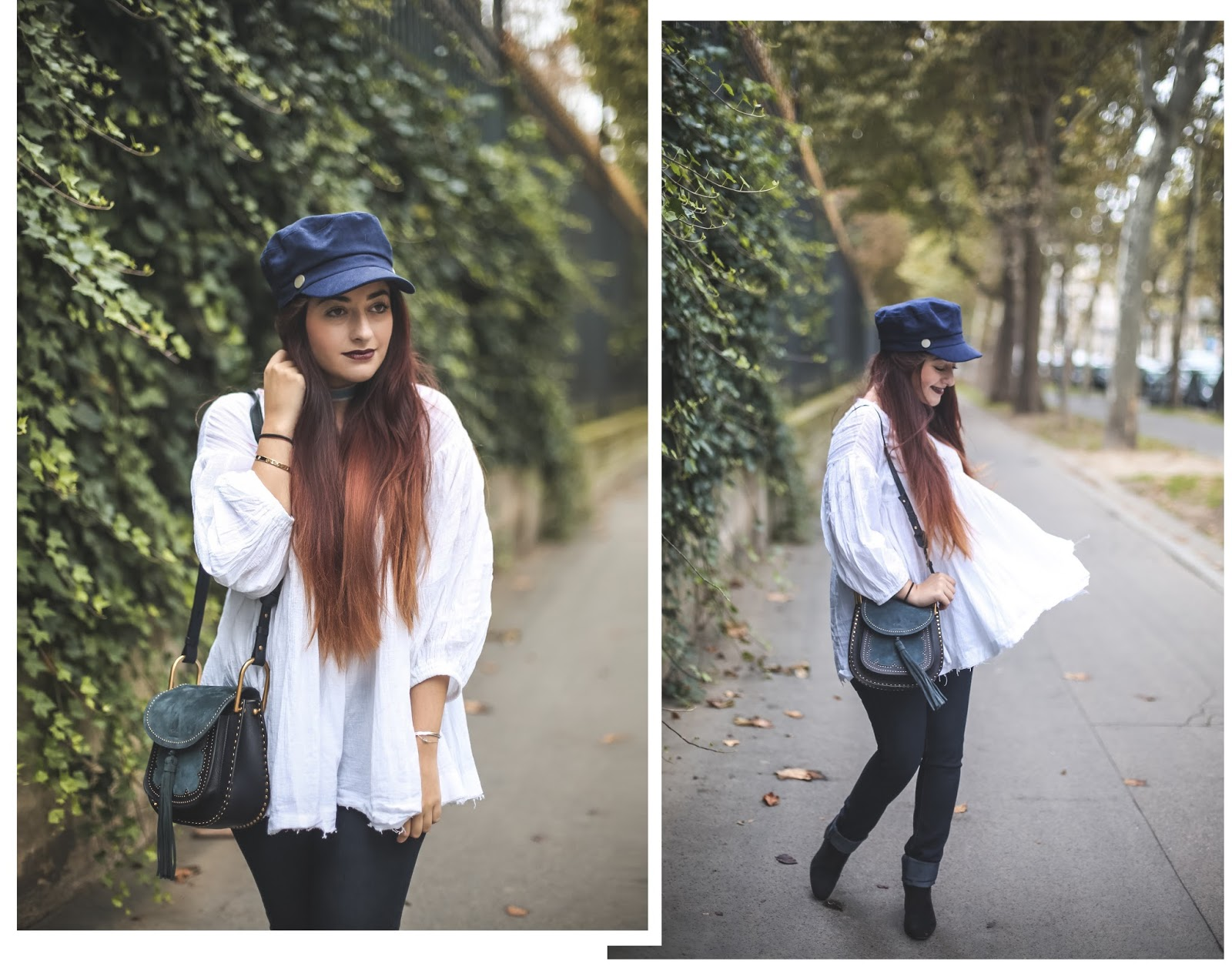 blouse blanche blog mode