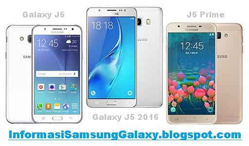 Perbandingan Galaxy J5 (2015) vs J5 (2016) vs J5 Prime