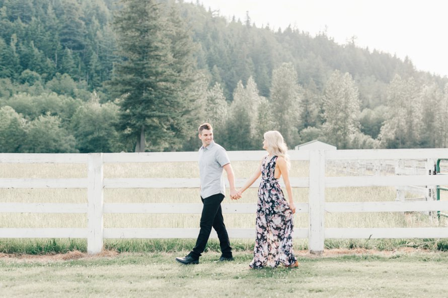 Rein Fire Ranch Engagement Session-Bonney Lake Wedding Photographers-Something Minted Photography