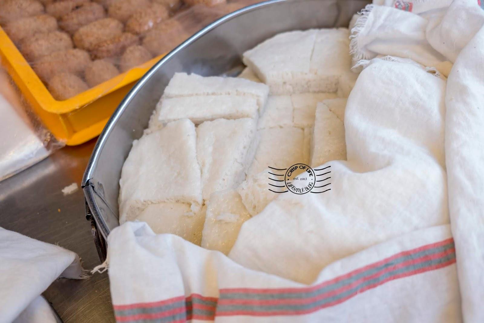 Steamed Rice Cake 白糖糕 @ Lebuh Cintra, Georgetown, Penang