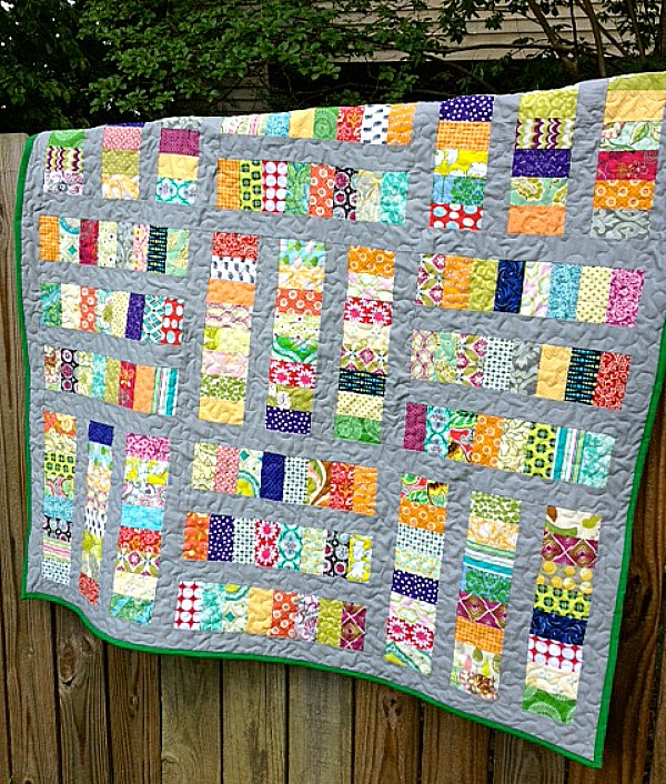 My Quilt Infatuation: Coins on the Sidewalk
