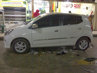 Kaca film Mobil Agya Full Body