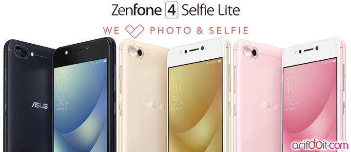 Spesial Harbolnas 12.12 Asus Luncurkan Zenfone 4 Selfie Lite ZB520KL