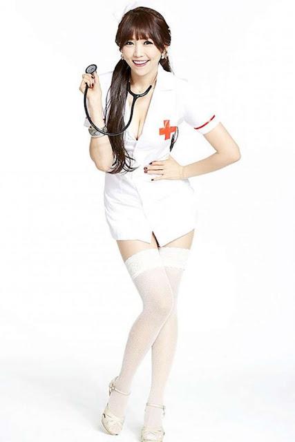 Lee Eun Hye 이은혜 In Sexy Nurse Outfits 4