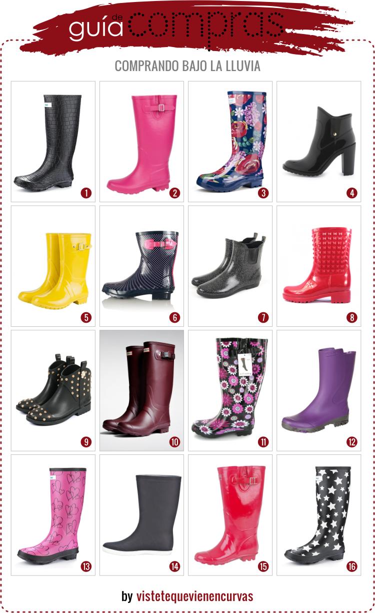 mejor online exuberante en diseño colores armoniosos VÍSTETE QUE VIENEN CURVAS: Comprando bajo la Lluvia · Outfit