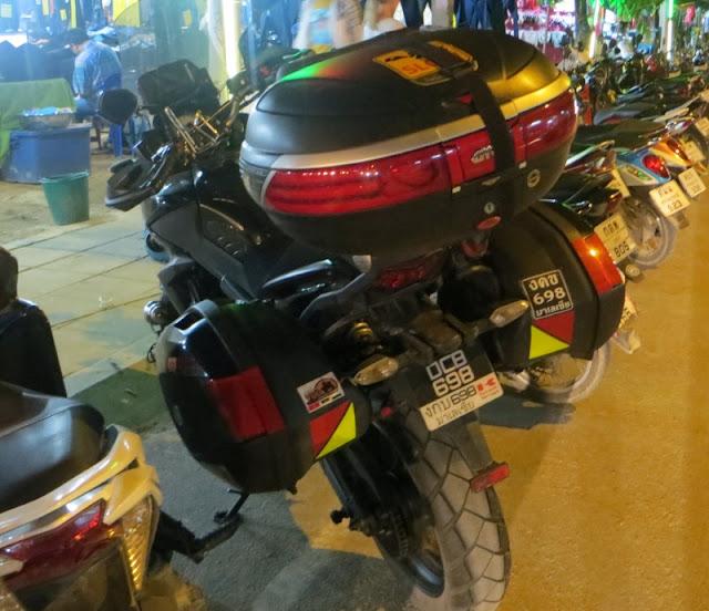 Большие кофры для мотоциклов