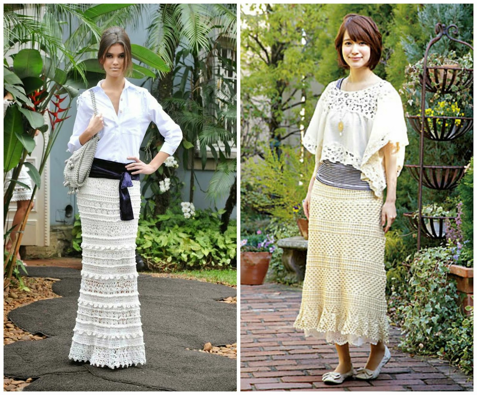 Little Treasures: 10 Amazing Crochet Skirts - free patterns and charts