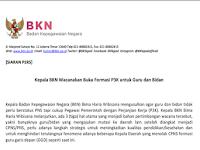Kepala BKN: Wacana Membuka P3K untuk Guru. Silakan Daftar di...