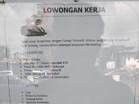 LOWONGAN KERJA MARKETING AREA PADANG || PT LUXINDO RAYA !!