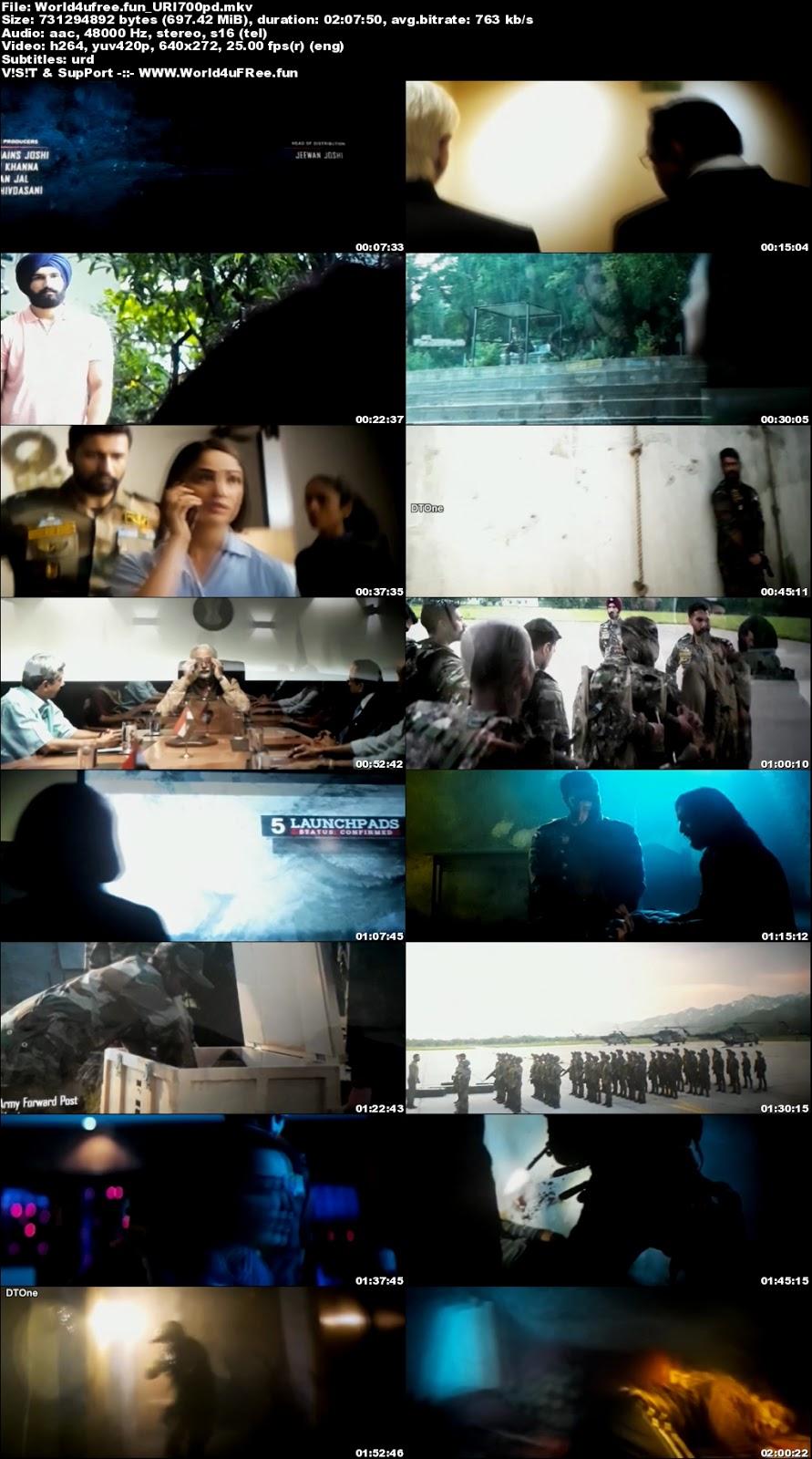 Uri The Surgical Strike 2019 Hindi Movie Download Hdcam