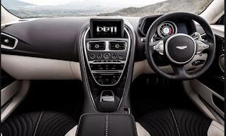 2016 Aston Martin DB11 Cabin Interior
